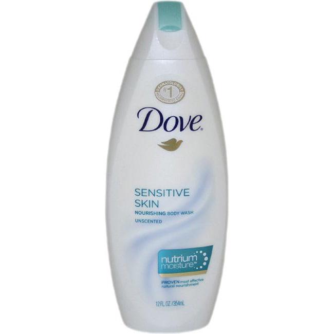 Shop Dove Sensitive Skin 12 Ounce Nourishing Body Wash Overstock 6210800