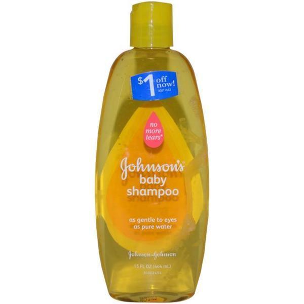 Johnson & Johnson No More Tears 15-ounce Johnson's Baby Shampoo