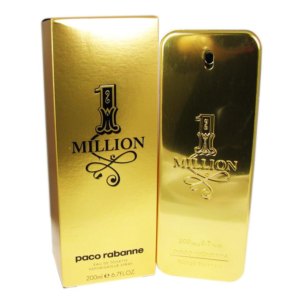 Paco Rabanne 1 Million Men's 6.7-ounce Eau de Toilette Sp...