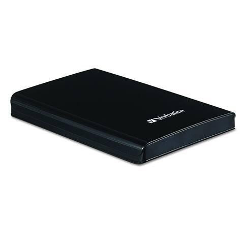 Verbatim 1TB Store 'n' Go Portable Hard Drive, USB 3.0 - Diamond Black