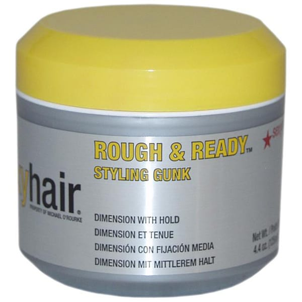 Short Sexy Hair Rough & Ready Styling Gunk 4.4-ounce Sexy Hair Gel