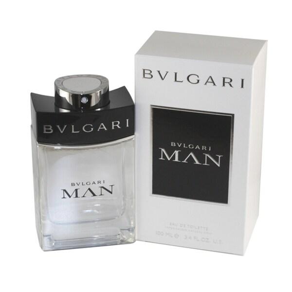 Bvlgari Man 3.4-ounce Eau de Toilette Spray