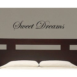 Vinyl 'Sweet Dreams' Wall Decal