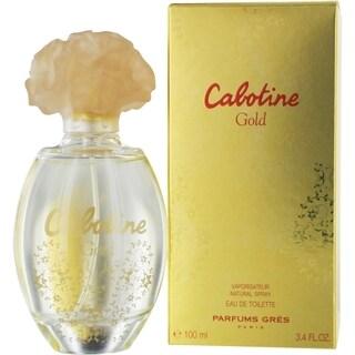 Gres Cabotine Gold Women's 3.4-ounce Eau de Toilette Spray