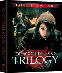 Stieg Larsson's Dragon Tattoo Trilogy - Extended Edition (DVD)