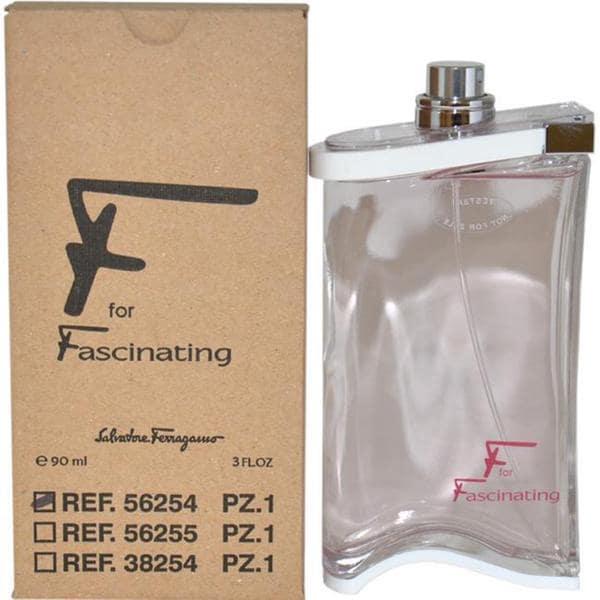 Salvatore Ferragamo Women's 'F for Fascinating' 3-ounce Eau de Toilette Spray (Tester)