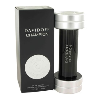 Davidoff Davidoff Champion Men's 3-ounce Eau de Toilette Spray
