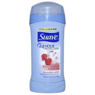 Suave 24 Hour Protection Wild Cherry Blossom 2.6-ounce Antiperspirant Deodorant