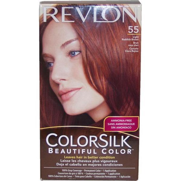 Revlon ColorSilk Beautiful Color #55 Light Reddish Brown Hair ...