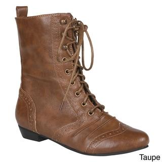 Refresh Women's 'Lee-01' Mid-calf Boots