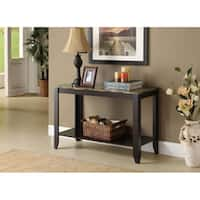 Clay Alder Home Loma Cappuccino Faux Marble Top Sofa Console Table