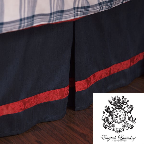 English Laundry Stockport Queen-size Bedskirt