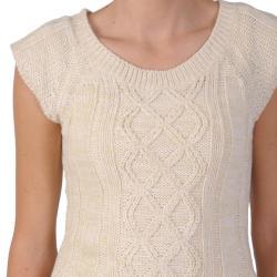 Ci Sono by Adi Junior's Scoop Neck Short-sleeve Sweater Tunic - Thumbnail 2