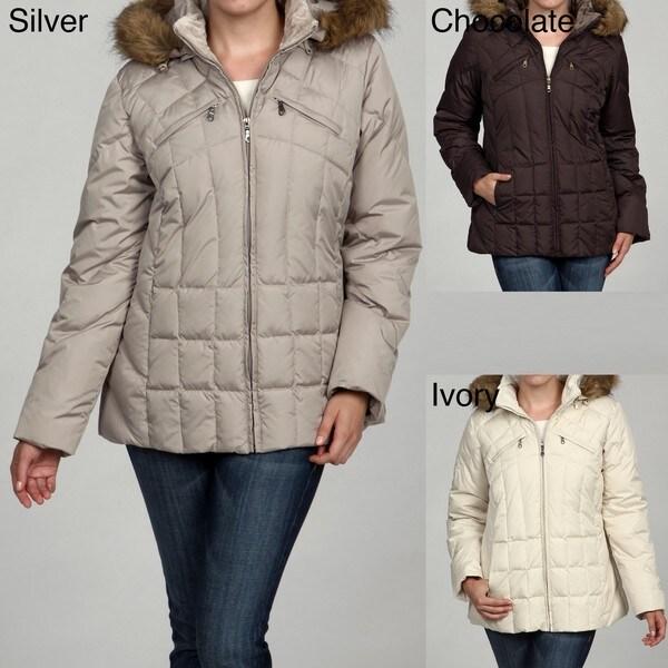 Mackintosh Women's Down-Filled Hooded Jacket