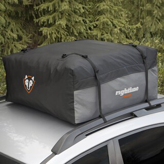 Rightline Gear Black/Gray Waterproof Sport 1 Car Top Carrier