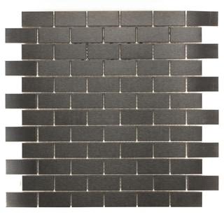 ICL Urban Metal Mosaic Tiles (Pack of 11)