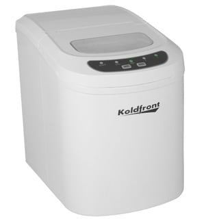 Koldfront White Ultra Compact Portable Ice Maker Sold by Living Direct