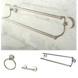 Satin Nickel 3-piece Bathroom Accessory Set