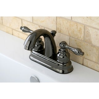 Black Stainless Steel Classic Bathroom Faucet