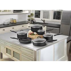 Cuisinart 55-11BK Black Advantage Nonstick 11-piece Cookware Set
