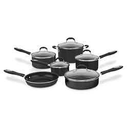 Cuisinart 55-11BK Black Advantage Nonstick 11-piece Cookware Set|https://ak1.ostkcdn.com/images/products/6213067/Cuisinart-55-11BK-Black-Advantage-Nonstick-11-piece-Cookware-Set-P13858977.jpg?impolicy=medium