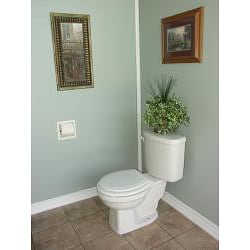 In-the-wall Plastic Recessed Toilet Paper Holder