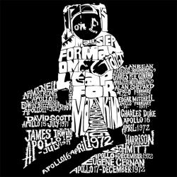 Los Angeles Pop Art Astronaut Shopping Tote - Thumbnail 1