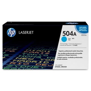 HP 504A (CE251AG) Cyan Original LaserJet Toner Cartridge for US Gover