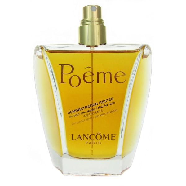 Perfume Tester Review: Shop Lancome Poeme Women's 3.4-ounce Eau De Perfum Spray (Tester)