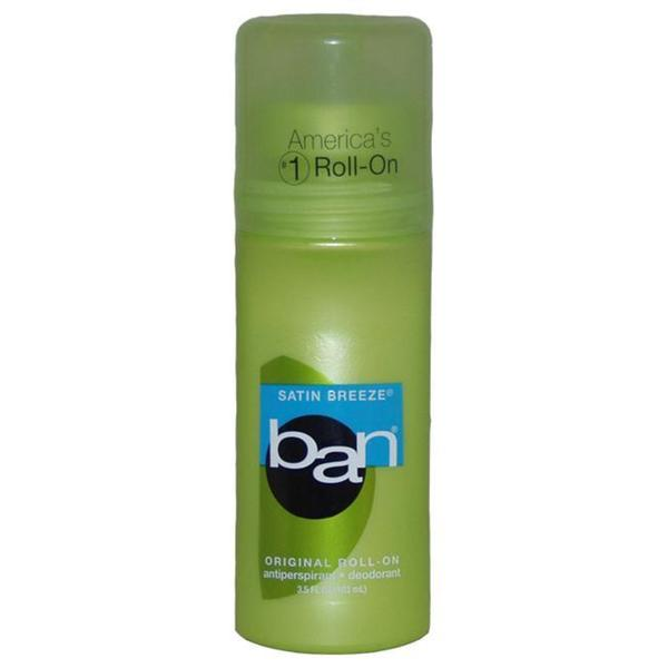 Ban Satin Breeze 3.5-ounce Roll-On Antiperspirant Deodorantant