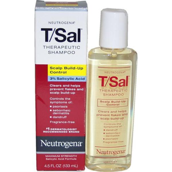 T/Sal Therapeutic Scalp Build-up by Neutrogena 4.5-ounce Shampoo