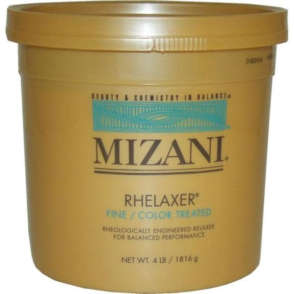 Mizani Rhelaxer Fine Color Treated 64 Ounce Hair Relaxer