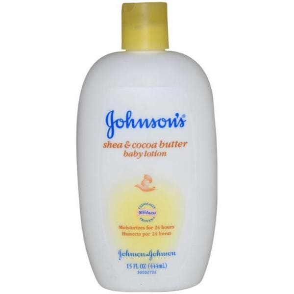 Johnson & Johnson Shea and Cocoa Butter 12-ounce Baby Lotion