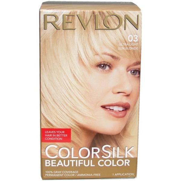 Revlon Colorsilk Beautiful Color Ultra Light Sun Blonde #03 Hair Color