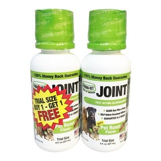 Liquid-Vet Pot Roast Flavor Holistic Joint Formula - 8 ounces (Pack of 2)