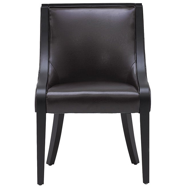 Sunpan India Bonded Leather Dining Chair
