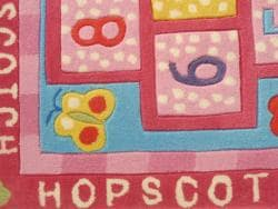 Shop Hopscotch Hand Tufted Kid S Area Rug 30 Quot X 60