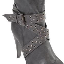 Hailey Jeans Co Women's 'Woodsx-12' Buckle High Heel Boots