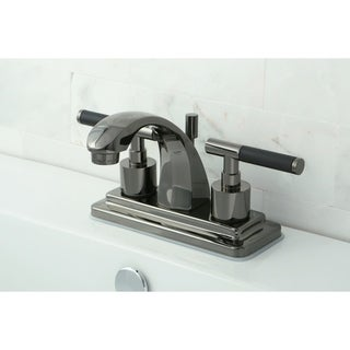Black Stainless Steel Bathroom Faucet