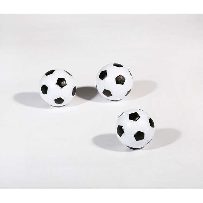 Hathaway Soccer Ball Style Foosballs - 3-pack