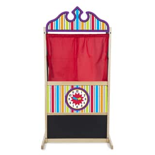 Melissa & Doug Deluxe Puppet Theater Play Set|https://ak1.ostkcdn.com/images/products/6217739/P13862768.jpg?impolicy=medium