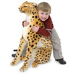 Melissa & Doug Plush Cheetah Animal Toy - Orange