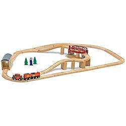 Melissa & Doug Swivel Bridge 45-piece Train Set|https://ak1.ostkcdn.com/images/products/6217750/Melissa-Doug-Swivel-Bridge-45-piece-Train-Set-P13862777.jpg?impolicy=medium