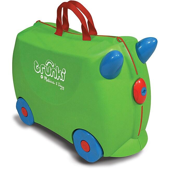 Melissa & Doug Green Trunki Jade Ride-on Luggage