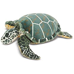 Melissa & Doug Plush Sea Turtle Animal Toy