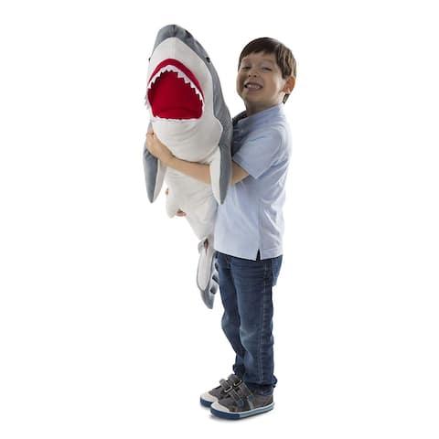 Melissa & Doug Plush Shark Animal Toy