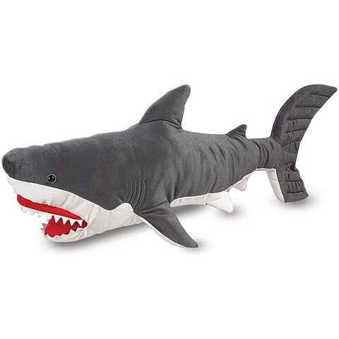 Melissa & Doug Plush Shark Animal Toy