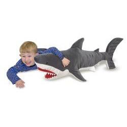 Melissa & Doug Plush Shark Animal Toy - Thumbnail 1