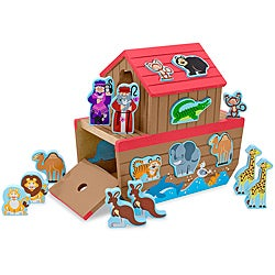 Melissa & Doug Noah's Ark Shape Sorter Play Set