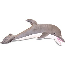 Melissa & Doug Plush Dolphin Animal Toy